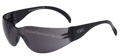 (12 Pack) Smoke Safety Glasses, Eye Protection, Texas Safety Specs