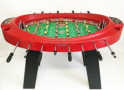 AFL Carlton Draught Limited Edition Foosball Football Soccer Table with E-Score