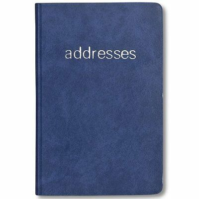 Plan Ahead Small Telephone/Address Book, Smooth Cover, Assorted Colors, Color