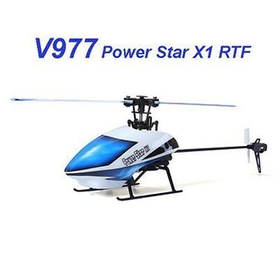 WLtoys V977 Power Star X1 6CH 2.4G Brushless RC Helicopter New Original (914247)