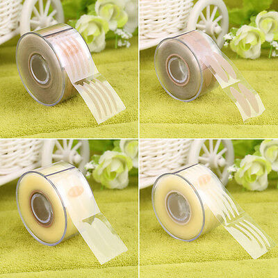 300 Pair Adhesive Invisible Wide/Narrow Double Eyelid Sticker Tape Makeup FG