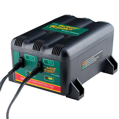 Battery Tender 2-Bank System 1.25A Charger