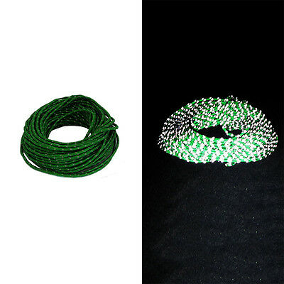 Reflective Guyline Canopy Tent Rope Guy Line Camping Cord Paracord Green