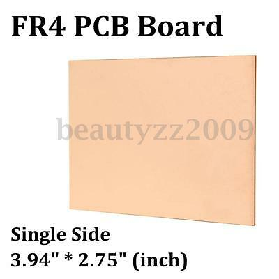 5/10PCS One-Side FR4 Copper Clad Single PCB Printed Circuit Kit Boards 100*70mm