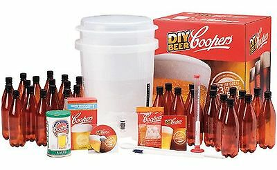 Coopers DIY Home Brewing 6 Gallon Craft Beer Kit 6 Gallon Kit New