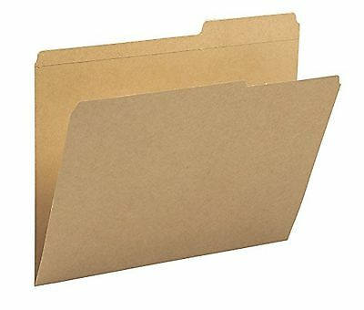 Smead Kraft File Folders 2/5 Cut Right Position Reinforced Guide Height T... New