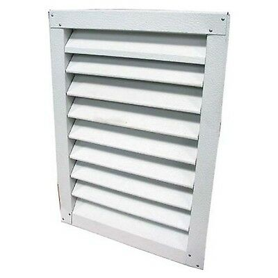 Lomanco 150-8x8 8-Inch X 8-Inch White Aluminum Gable Vents Mill Finished New