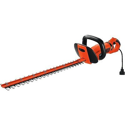 BLACK + DECKER HH2455 Hedge Trimmer with Rear Rotating Handle New