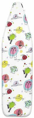 Whitmor 6325-833 Deluxe Elements Ironing Board Cover and Pad Multicolor New