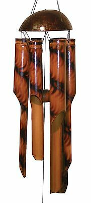 Cohasset 180 Small Fern Bamboo Wind Chime New