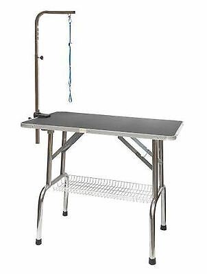 Go Pet Club GT-202 36-Inch Heavy Duty Stainless steel Pet Dog Grooming Ta... New