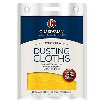 Guardsman Dusting Cloths 5-Count 462700 New