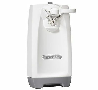 Proctor-Silex Can Opener (White) New