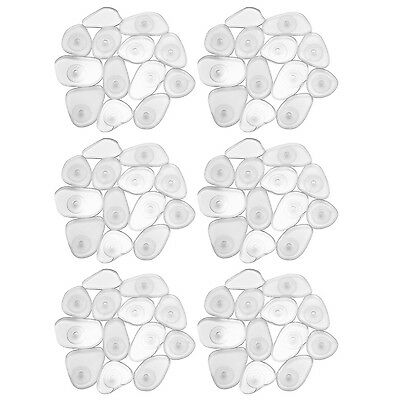 InterDesign Pebblz Non-Slip Safety Treads for Shower Bathtub - Set of 6 C... New