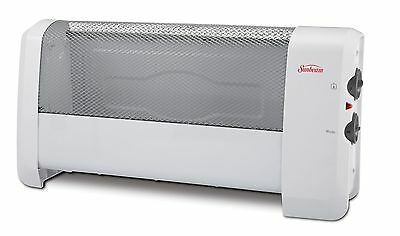 Sunbeam Low Profile Heater with Manual Controls New