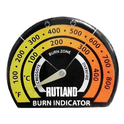 Rutland Stove Thermometer  Each New