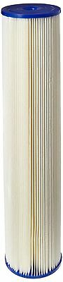 Pentek ECP20-20BB Pleated Cellulose Polyester Filter Cartridge 20-Inch x ... New