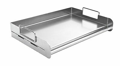 Charcoal Companion CC3500 Stainless Pro Grill Griddle New