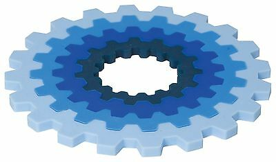 Now Designs Nesting Gear Trivets Blue New