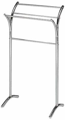 King's Brand BS-1248 Chrome Finish Towel Rack Stand New