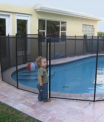 WaterWarden NE180F 4-Feet by 12-Feet Safety Fence for In-Ground Pools New