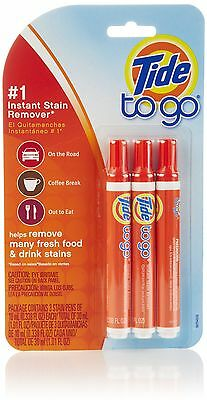 Tide To Go Stain Remover 3-Count- Packaging May Vary New