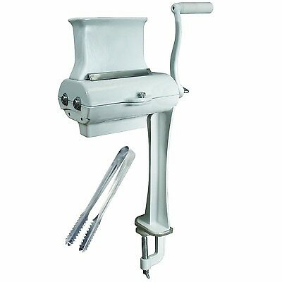 Weston Prago Single-Support Manual Meat Cuber/Tenderizer New