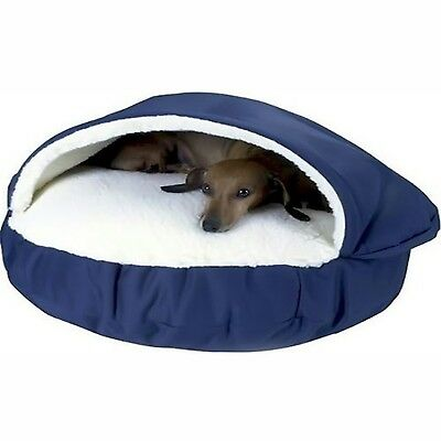 Snoozer 87100 Large Cozy Cave Navy New