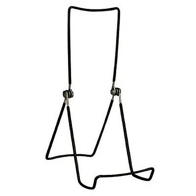 Gibson Holders 6AC-B Book and Painting Three Wire Display Stand Set of 2 ... New