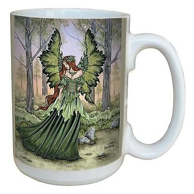 Tree-Free Greetings lm43558 Fantasy Lady of The Forest Fairy Ceramic Mug ... New