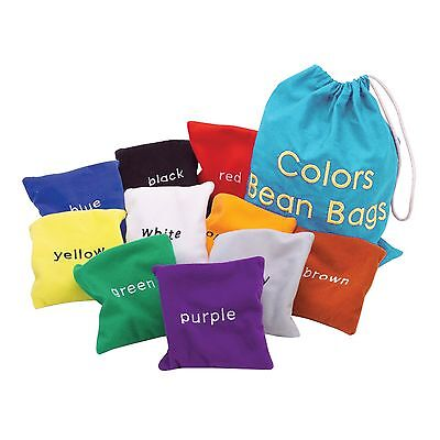 Educational Insights Colors Bean Bags New
