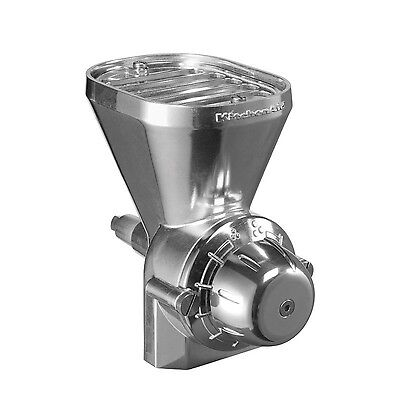 KitchenAid KGM Grain Mill Attachment Stainless Steel New