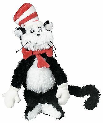 Manhattan Toy Dr. Seuss Cat in The Hat Soft Plush Toy Small New