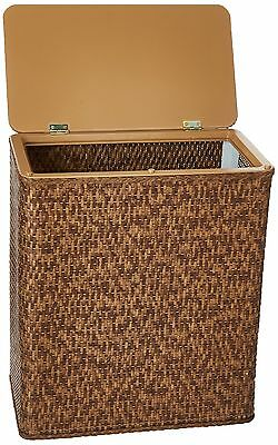 LaMont Home Carter Upright Hamper Cappuccino New