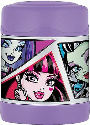 Thermos 10-Ounce Funtainer Food Jar Monster High New