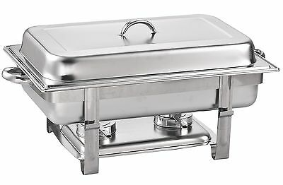 Cook N Home Chafer Full Size Chafing Dish 8-Quarts Stainless Steel New