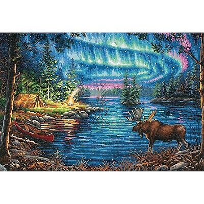 Dimensions Crafts 70-35312 Northern Night Counted Cross Stitch Kit New