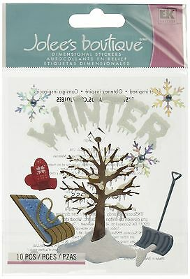 Jolees Boutique Themed Ornate Stickers Winter New