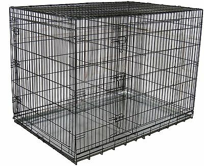 Go Pet Club MLD-30 30-Inch Metal Dog Crate with Divider New