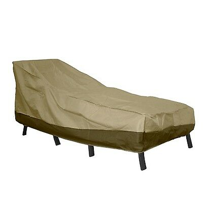 Patio Armor Chaise Lounge Cover Large New