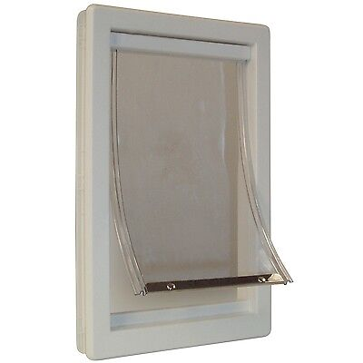 Perfect Pet Medium Soft Flap Cat Door with Telescoping Frame 7-Inch by 11... New
