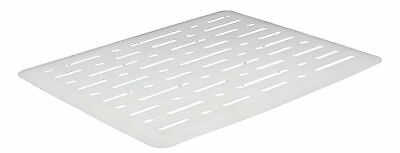 Rubbermaid 1G1706WHT Evolution Small Sink Mat White New