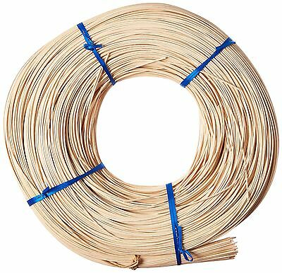Commonwealth Basket Round Reed #2 1-3/4mm 1-Pound Coil Approximately 1100... New