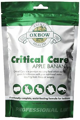 OXBOW Critical Care Apple/Banana Pet Supplement 141g New
