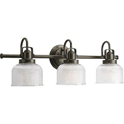 Progress Lighting P2992-74 Archie Three Light Bath Vanity Venetian Bronze... New