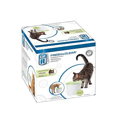Catit Design Fresh and Clear Cat Drinking Fountain Original New