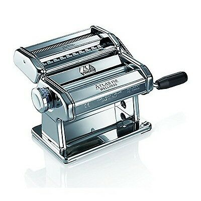 Marcato Atlas Wellness 150 Pasta Maker Stainless Steel New