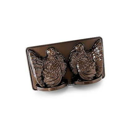 Nordic Ware Platinum Collection 3D Turkey Cake Pan New
