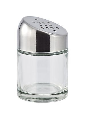 Cuisinox Parmesan Cheese and Chili Shaker Stainless Steel New