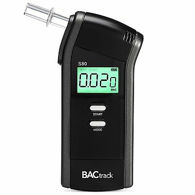BACtrack S80 Professional Breathalyzer Portable Breath Alcohol Tester New
